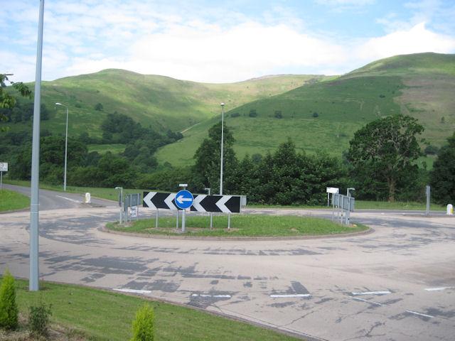Mallwyd roundabout