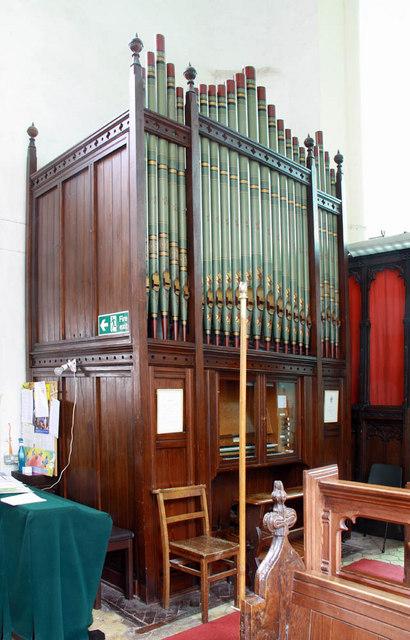 St Mary, West Winch, Norfolk - Organ