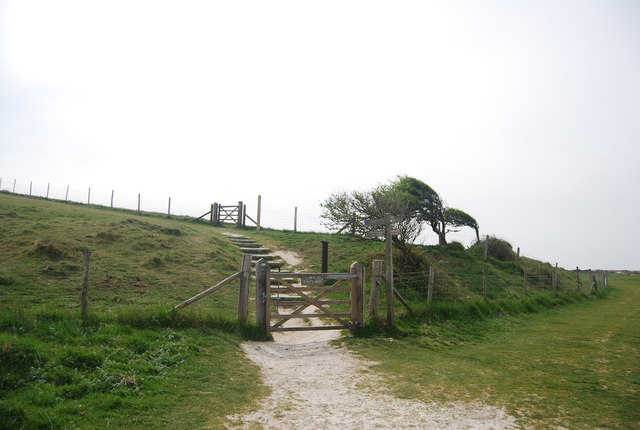Gates, South Downs Way, Seven Sisters Country Park
