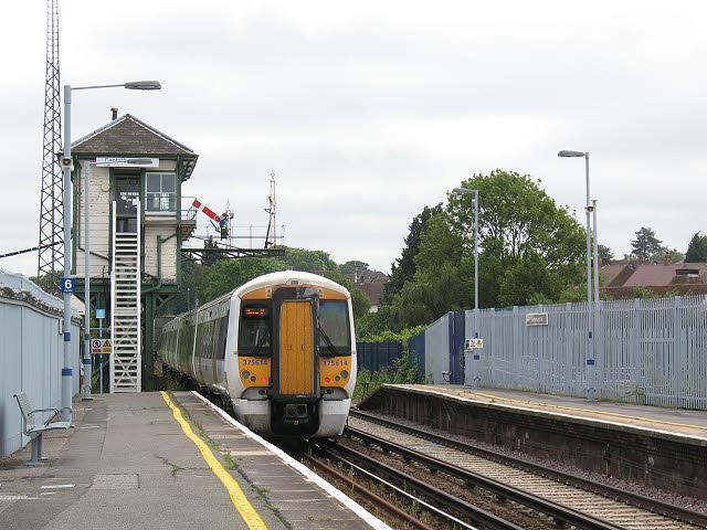 Canterbury East signalbox