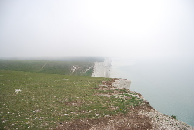 Cliff top, Haven Brow