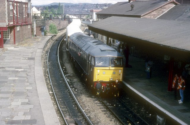 Newport station special for Ebba Vale