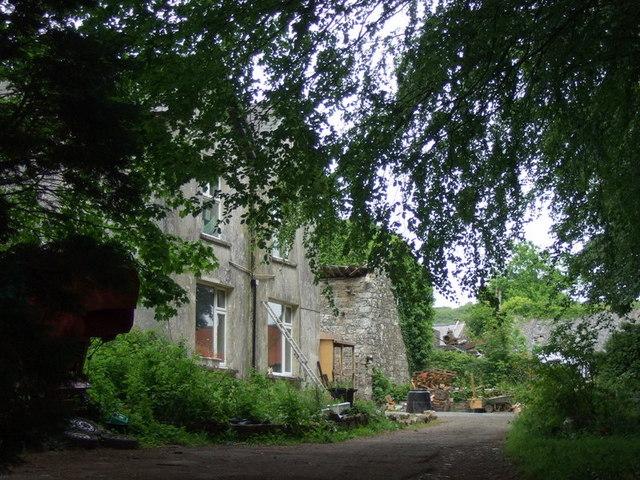 Old Llanstinan rectory