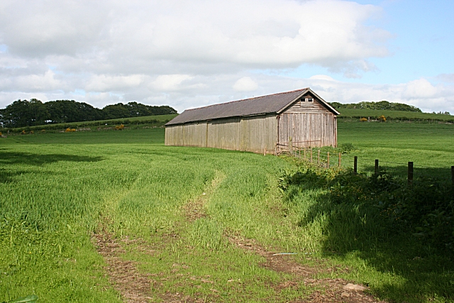 Large Shed at Balcairn