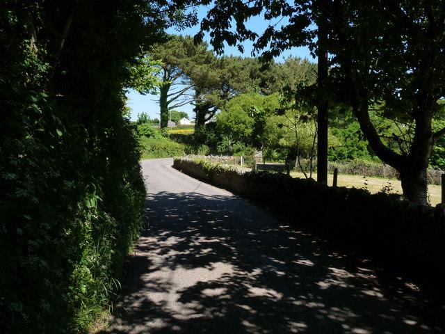 Jenker's Hill between Georgeham and Darracott