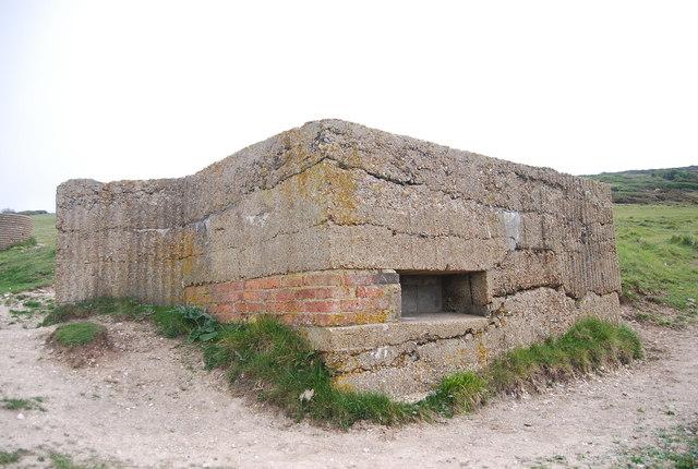 Pillbox, Cuckmere Haven
