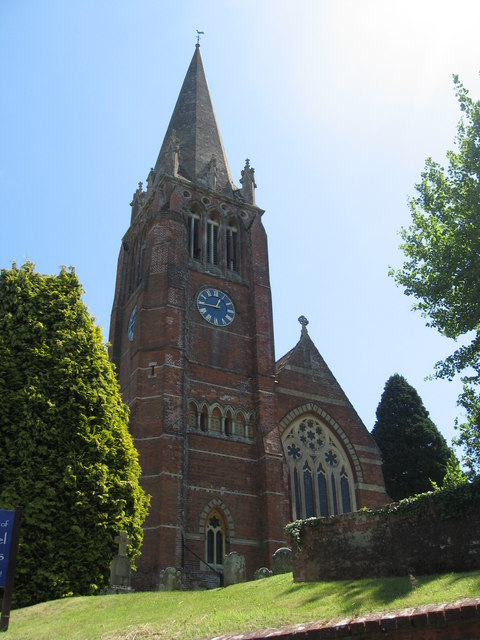 Tower and spire of  the Church of St. Michael & All Angels, Lyndhurst