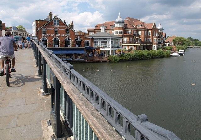 Across Windsor Bridge