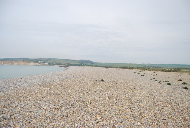 Beach, Cuckmere Haven