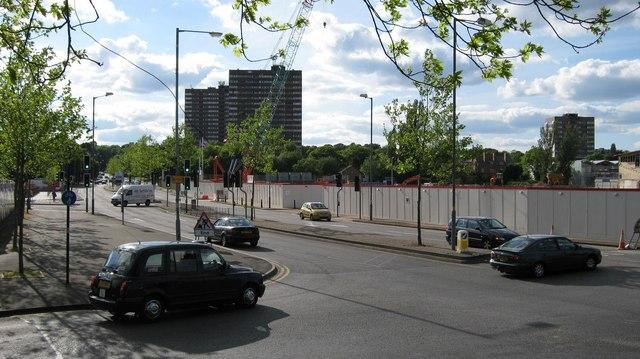Junction, Queens Ride and Edgbaston Road