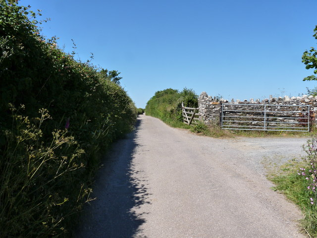 Almost at the top of Bottoms Lane