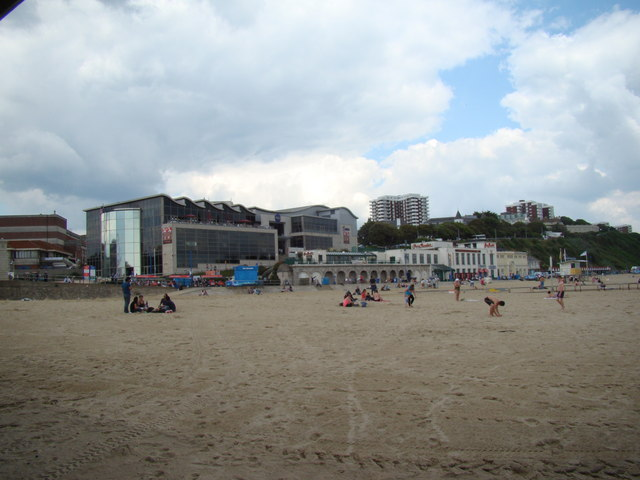View of the KFC-IMAX cinema complex, flats, Harry Ramsden's and the Pavilion