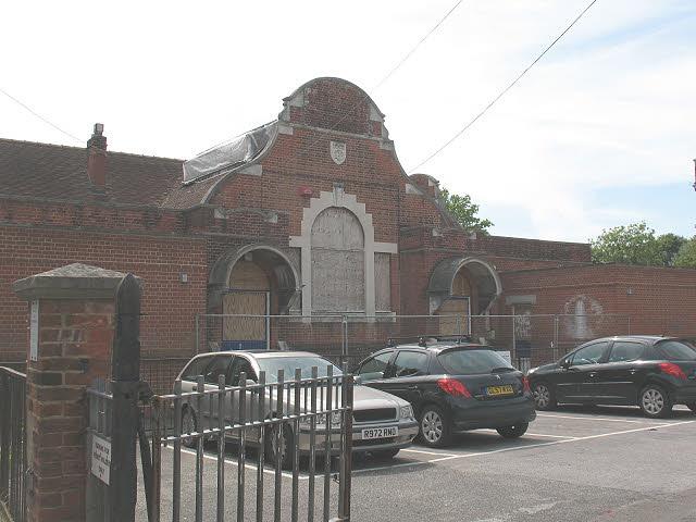 Derelict building off St John's Place