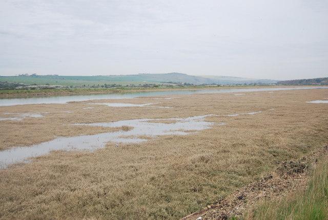 Salt marsh by the River Cuckmere