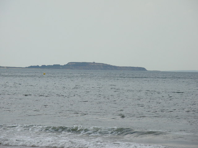 View of Brownsea Island from Bournemouth #4