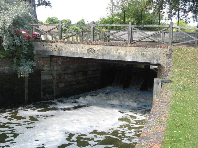 Bridge over the Beaulieu River at Beaulieu