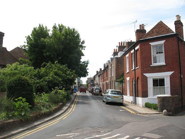 St Radigund's Street, Canterbury