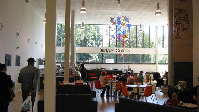 Cafe area, MAC
