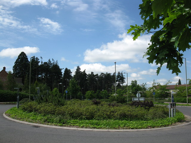 One of many roundabouts