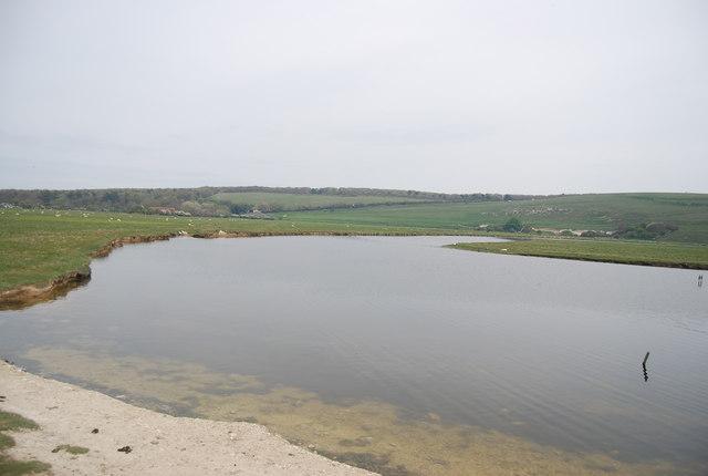 Cut off meander, River Cuckmere