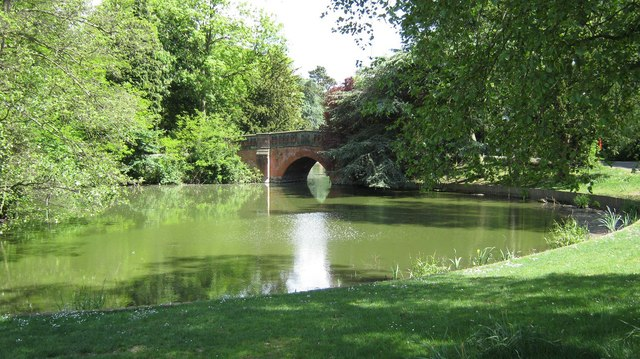 Southern section of lake, Cannon Hill Park