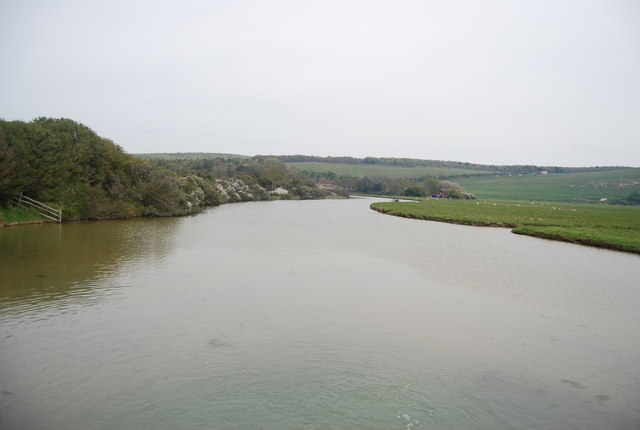 Cut off meander, River Cuckmere