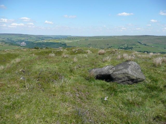 The summit of Chisley Stones, Blackshaw