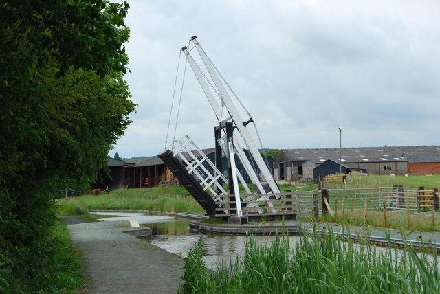 Morton Farm lift bridge
