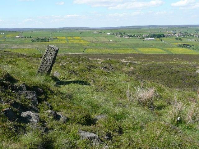 Stone pillar, Chisley Stones, Blackshaw