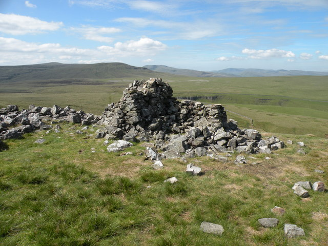 Ruins next to Rollinson Gill