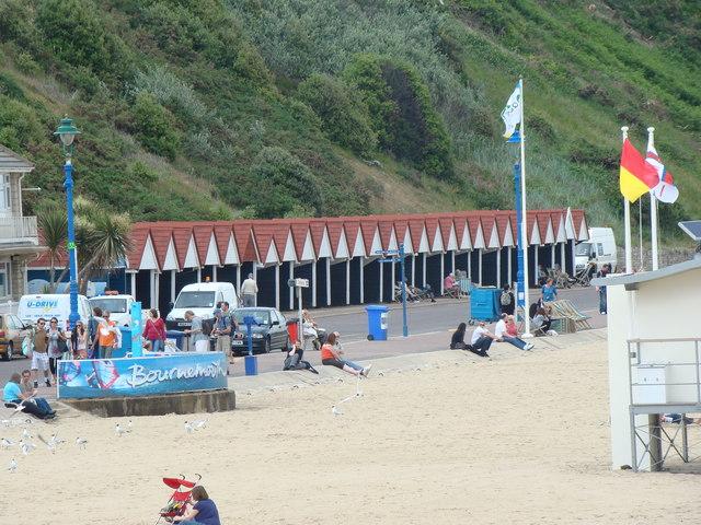 Beach huts on the promenade #2