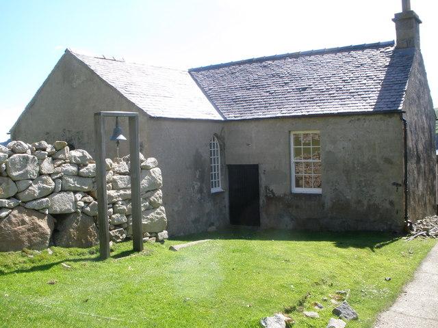 Church and school on Hirta