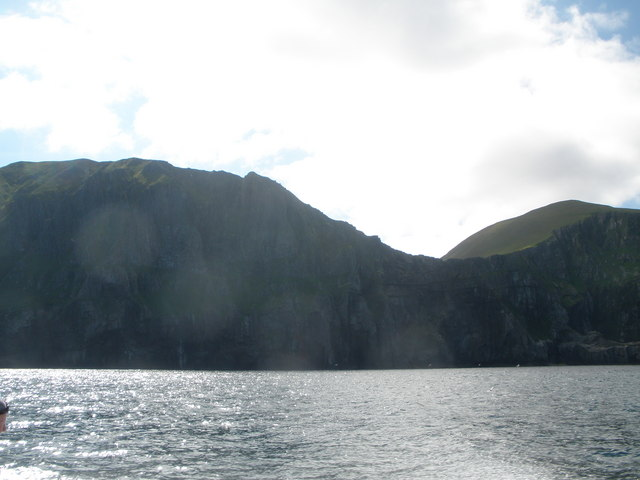 Cliffs near Rubha Challa