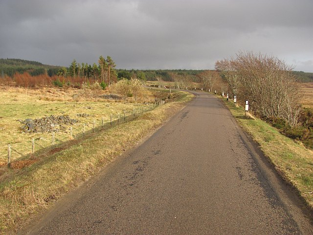 A838, Strath Tirry