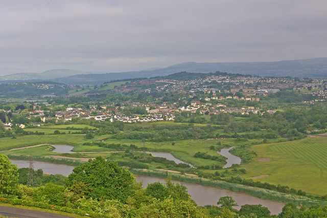 Caerleon and the River Usk