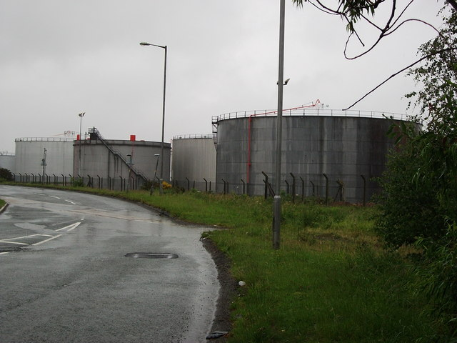 Eastham Oil Storage Depot