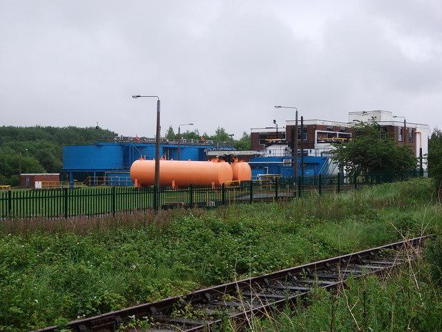 Vauxhall's Trade Effluent Treatment Plant, North Road, Ellesmere Port