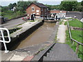 SJ5759 : Bunbury Locks on the Shropshire Union Canal by Andy Parrett