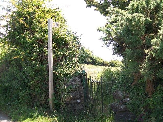 Footpath from Lon Denio to Pwllheli