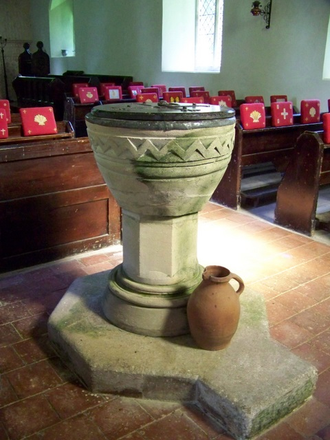 Font, The Church of St James