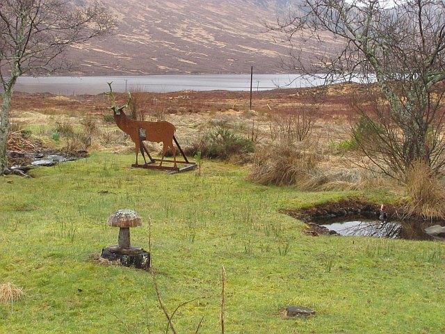 Deer target, Corriekinloch