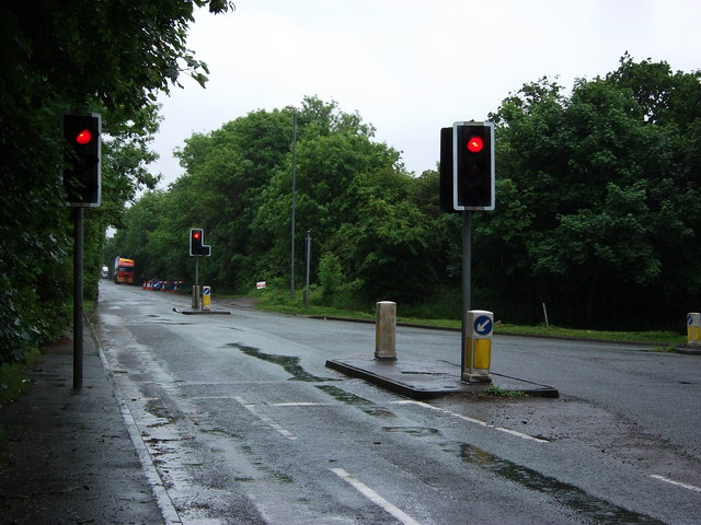 Junction of North Road and Netherpool Road