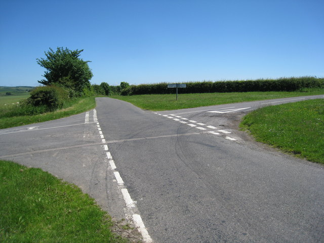 Crossroads near Ranby