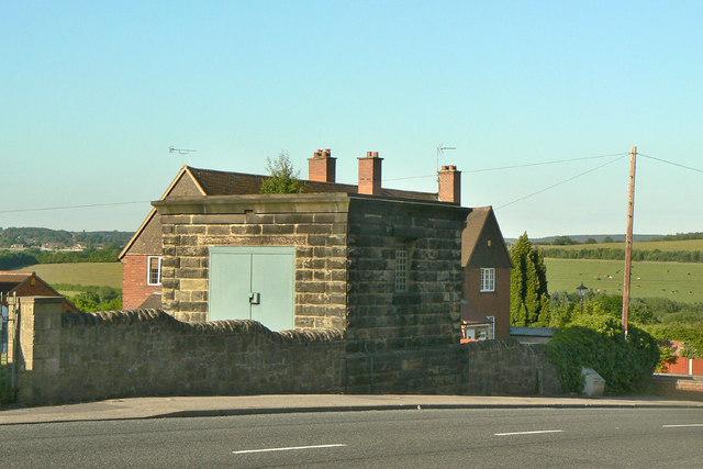 Waterworks building on Cromford Road