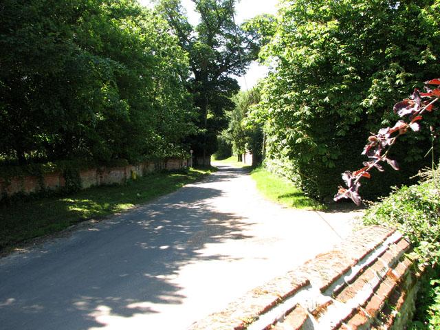 Church Lane, Little Massingham