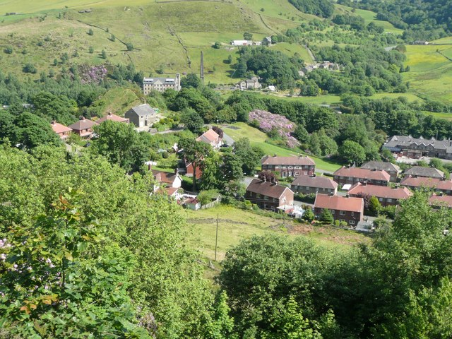 View from Cross Stone, Todmorden