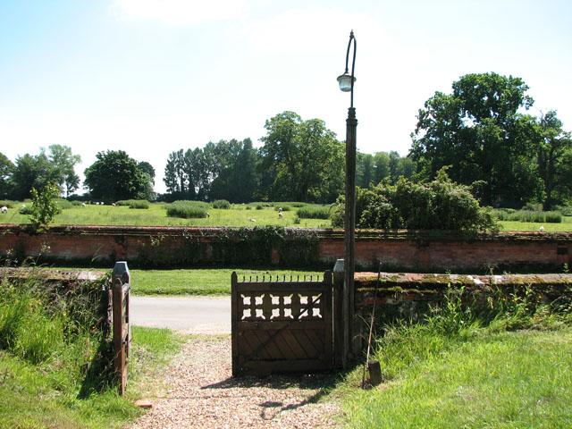 St Andrew's church in Little Massingham - churchyard gate