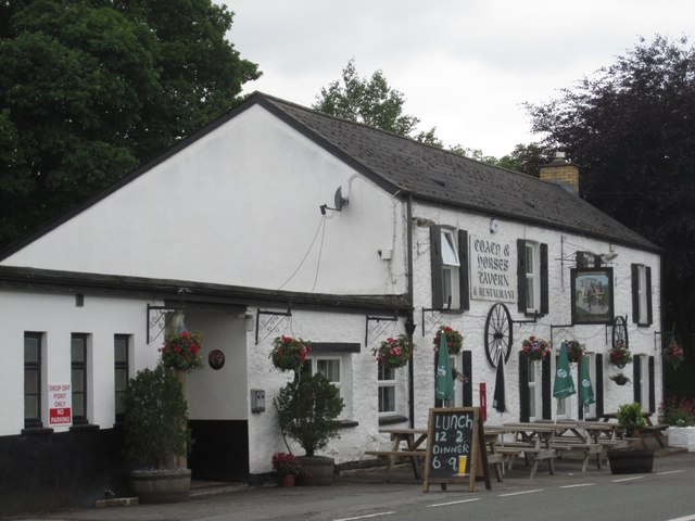 Llangynidr: the Coach and Horses Tavern