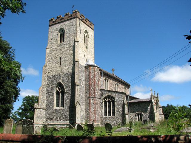 St Andrew's church in Little Massingham