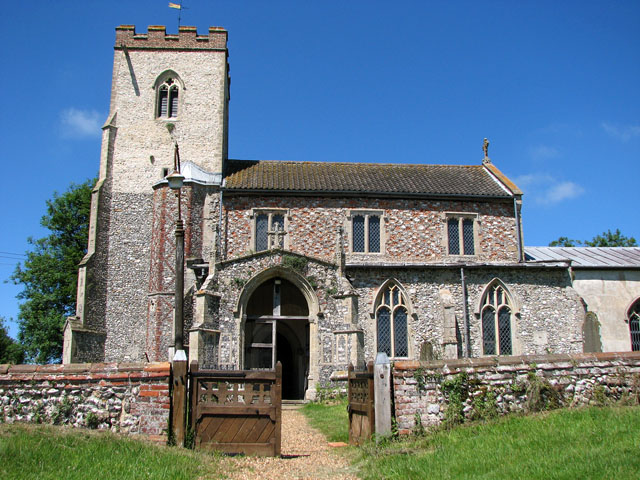St Andrew's church in Little Massingham